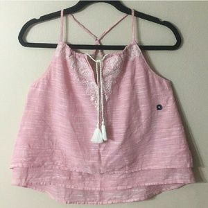 ABERCROMBIE & FITCH Tiered Top